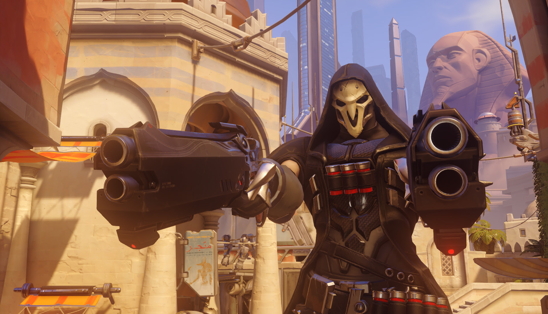 You've got character: Reaper screenshot