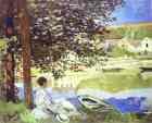 Claude Monet.  O rio, Bennecourt.