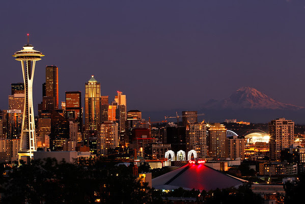 Kerry Park - Seattle - Copyright Ron Martinsen - All Rights Reserved