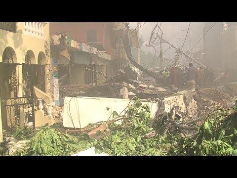 Residentes de Villas Agrícolas narran cómo sucedió la explosión