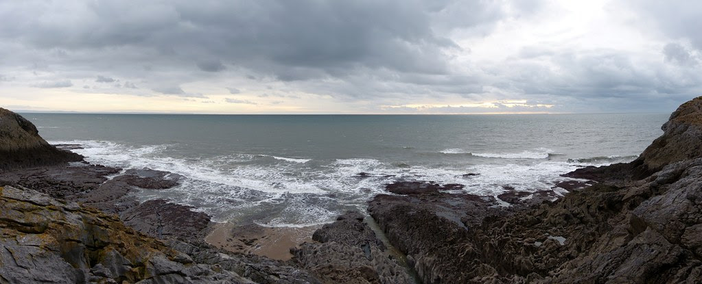 29030 - View from Paviland Cave, Gower