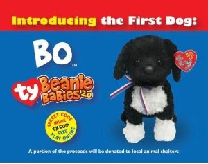 Ty Introduces Bo...The First Dog