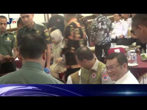 Gubernur Basa Soal Bencana Dengan BPBN