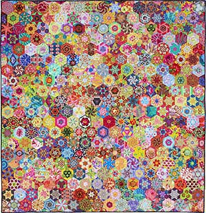 Carnival Hexagons by Kim McLean