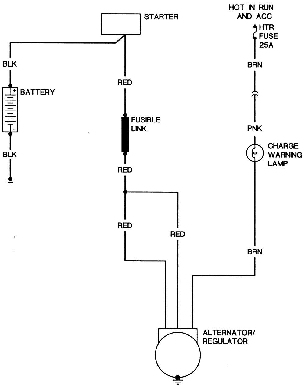 Chevy Voltage Regulator Wiring Diagram