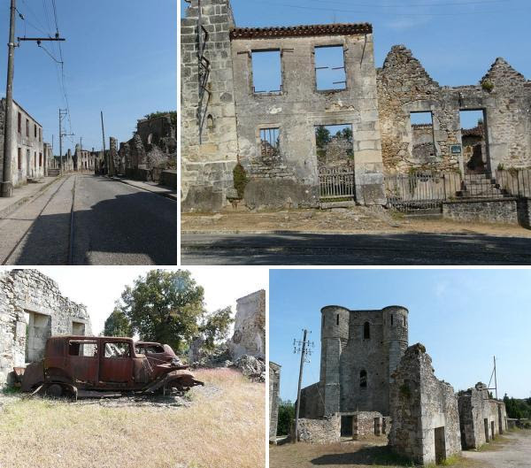 Oradour sur Glane 6 Ghost Towns and Abandoned Cities of Europe