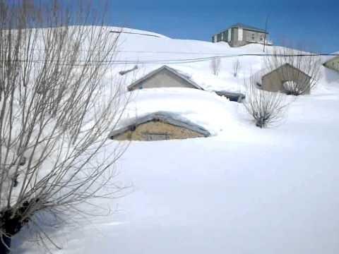 Hisarlık kasabası 2012 Kış Mustafa kaya Tarafından Çekilmiştir Video
