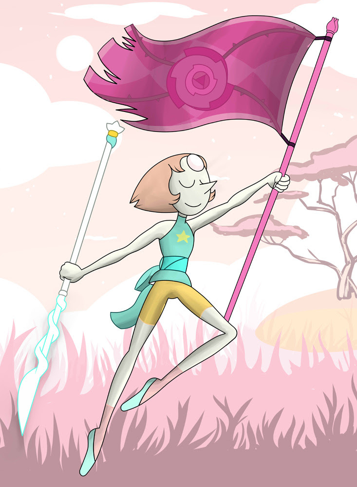 I Do It For Her featuring #pearl from #stevenuniverse