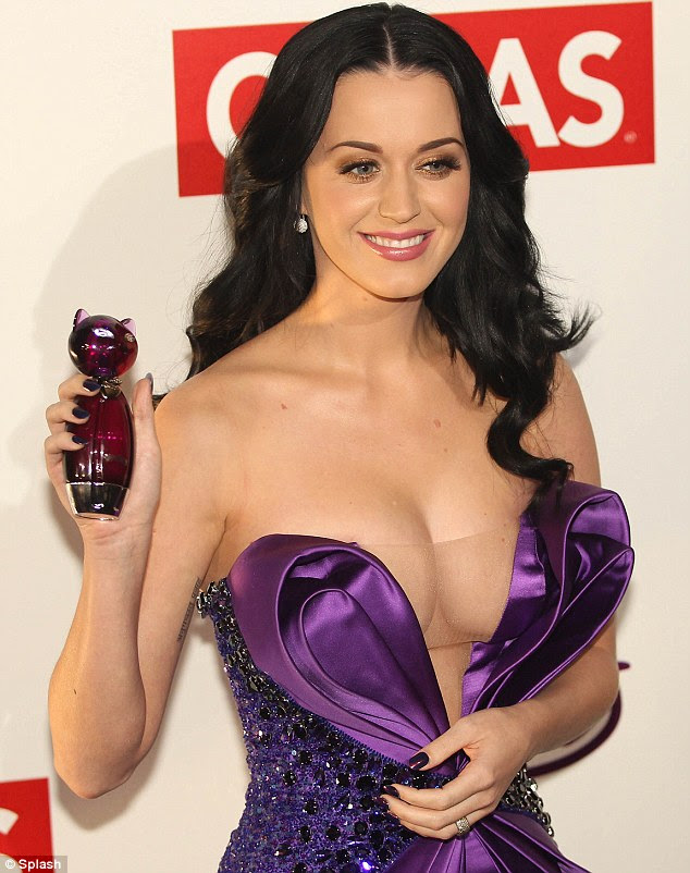 Katy Perry wore a very daring