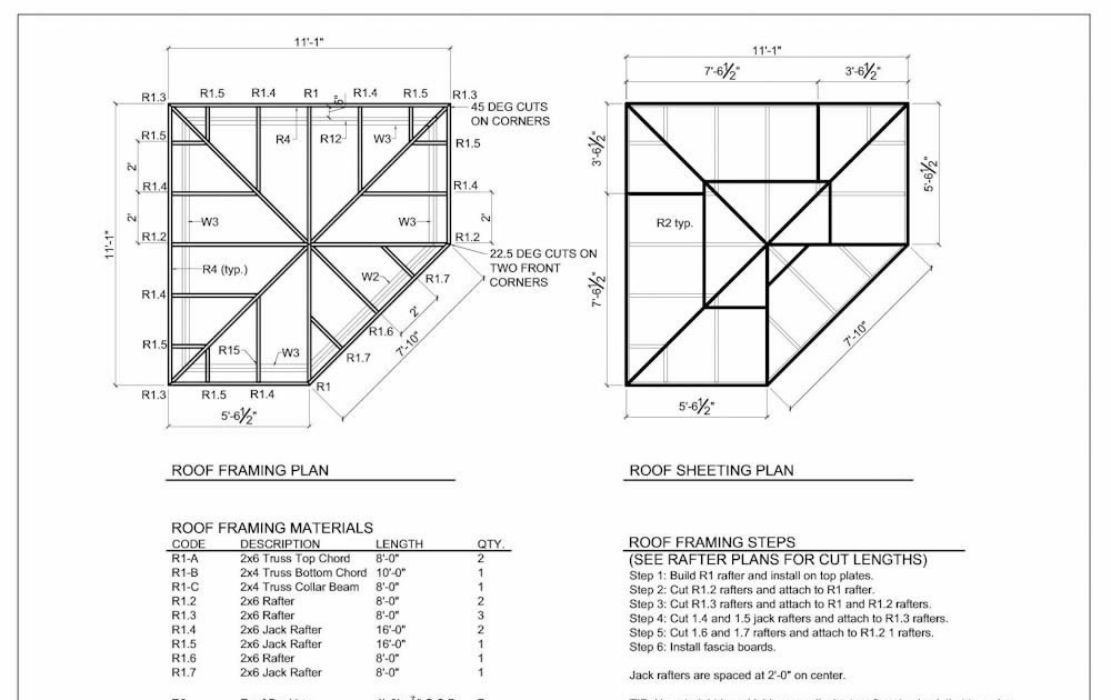 Shed plans 5 sided small garden storage shed for Free shed design software with materials list