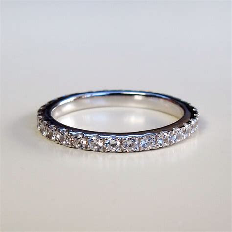 Fantastic Wedding Band Lovely Vintage Diamond Engagement