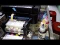 Cara Pemakaian Printer Baru L360 dan Cara Mengatasi Initial ink Charging is not complete