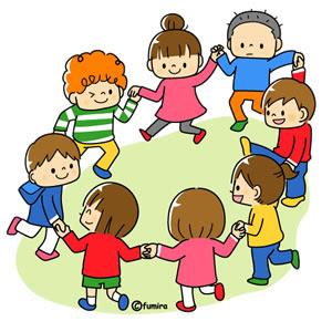 クリップアート幼稚園保育園のイラスト 子供と動物のイラスト屋