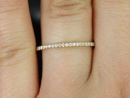 Rosados Box Priscilla 14kt Yellow Gold Ultra Thin Diamonds
