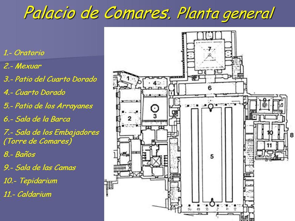 Resultado de imagen de SALA DE LA  BARCA DEL palacio de comares