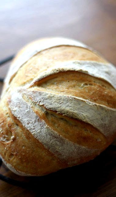 Homemade bread recipe with fresh yeast