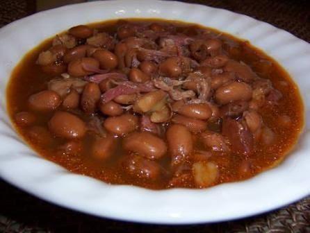 Crockpot ham hocks and beans | Recipe