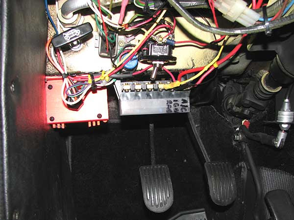 Mgb Fuse Box Location
