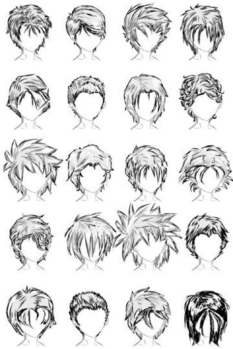 pin  lyric royal  hair references dibujos de