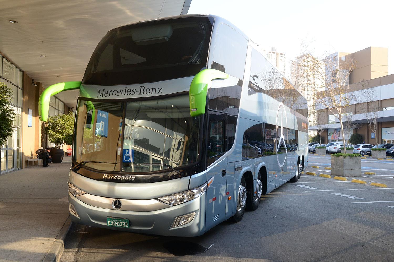 Resultado de imagem para ônibus mercedes rodoviario 2017 O 500 RSDD 8×2