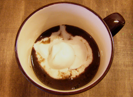 Hot Cocoa With Coconut Whippy Cream