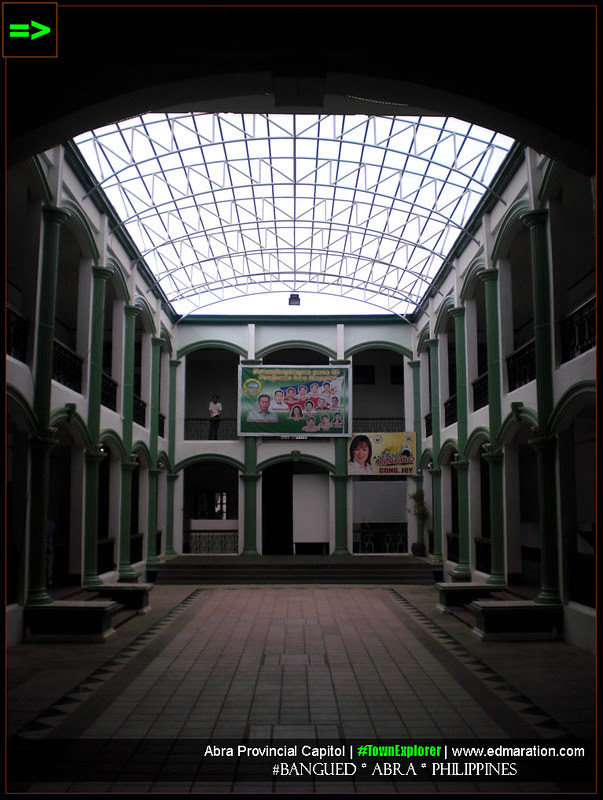 Inside the Abra Provincial Capitol