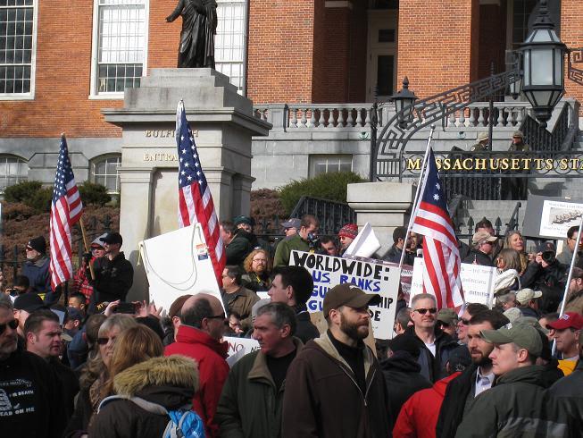 MA 2nd Amendment Demonstration