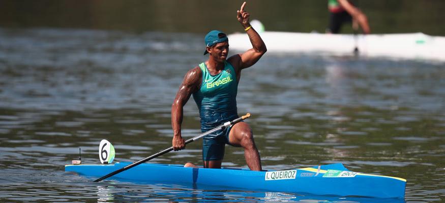 Isaquias Queiroz busca nova medalha. (Divulgação/ COI)