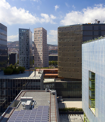 Distrito 22@, Poble Nou, Barcelona, Spain