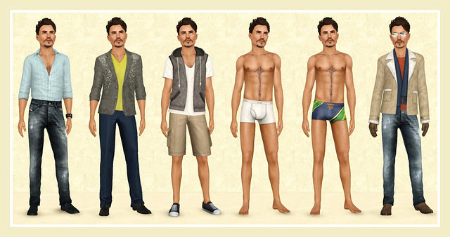 Romero Flynn - Clothes