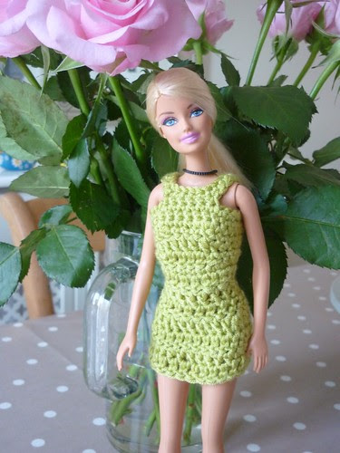 Green dress Barbie