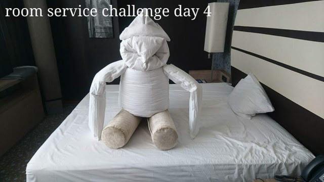 День четвертый  Отель, горничная, креатив, юмор