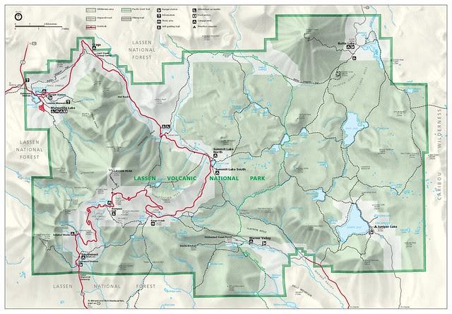 Lassen_Volcanic_National_Park_map_2006.07