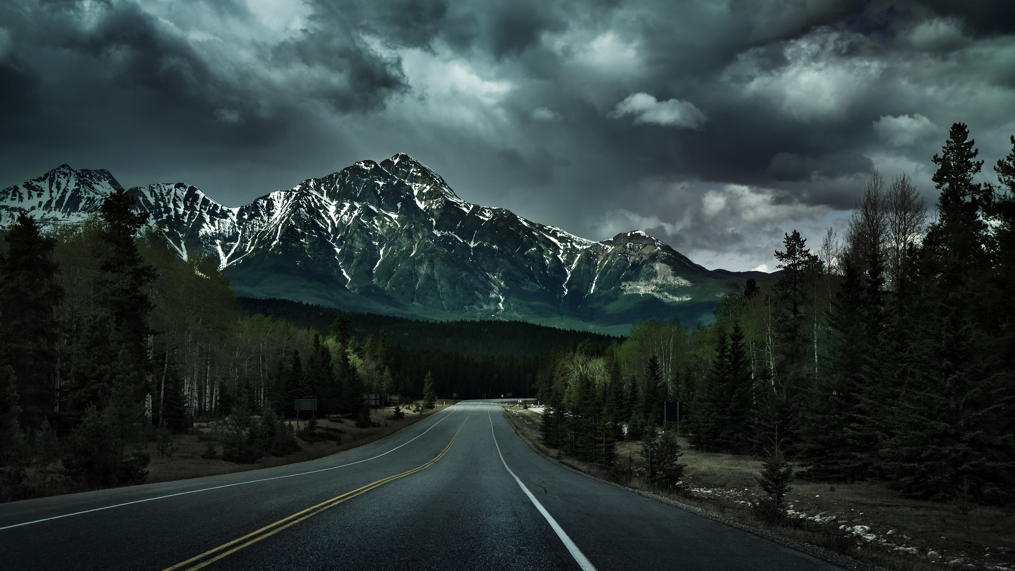 Mountain Road Hd Wallpapers 1080p