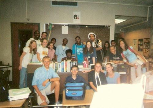 Ms. White's Homeroom Class by Noladishu