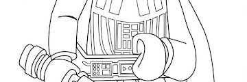 Lego Star Wars Coloring Book Printable