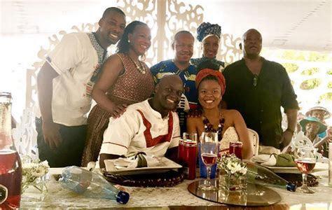 Former Muvhango Star Rantebeng Makapan Marries Hearthrob