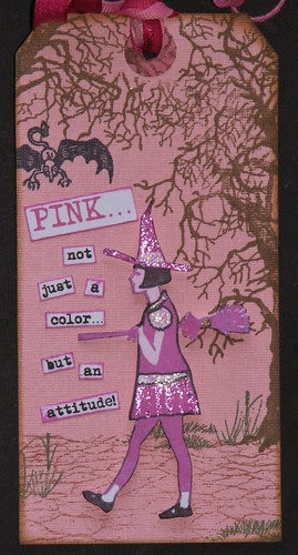 3C - Pink Attitude Close Up