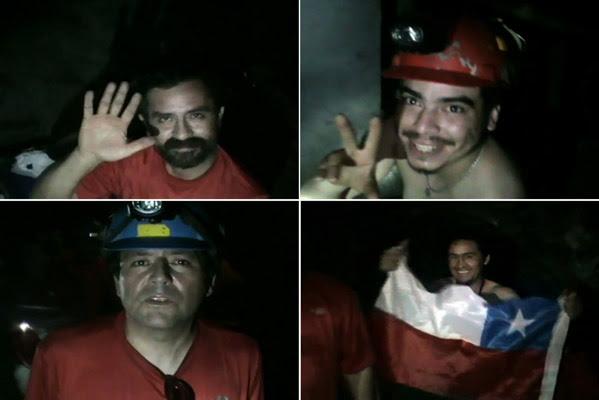 Cuatro mineros atrapados