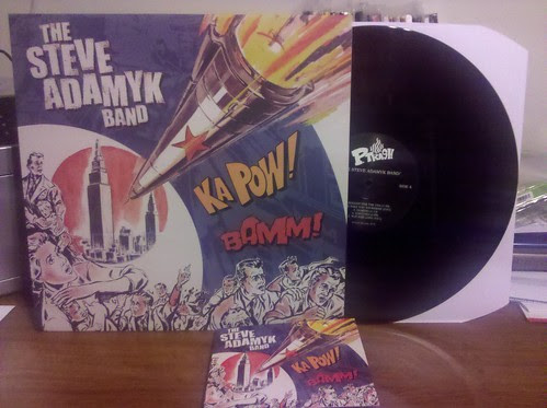 The Steve Adamyk Band - S/T LP