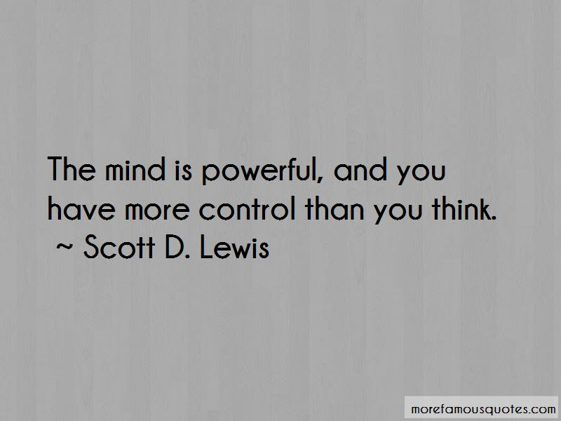 Mind Is Powerful Quotes Top 42 Quotes About Mind Is Powerful From