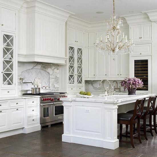Elegant French Kitchen - Traditional - kitchen - BHG