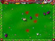 Jogar Chainsaw killer zombie against cute little bunnies Jogos