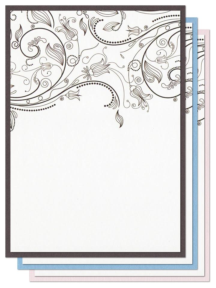 25 New Empty Invitation Card Design