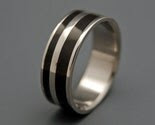 Asymetrical Double Offset Water Buffalo Band