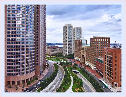 Boston cityscape by Bert Kaufmann, on Flickr