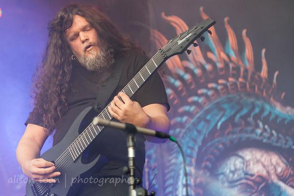 Mårten Hagström, guitar, Meshuggah