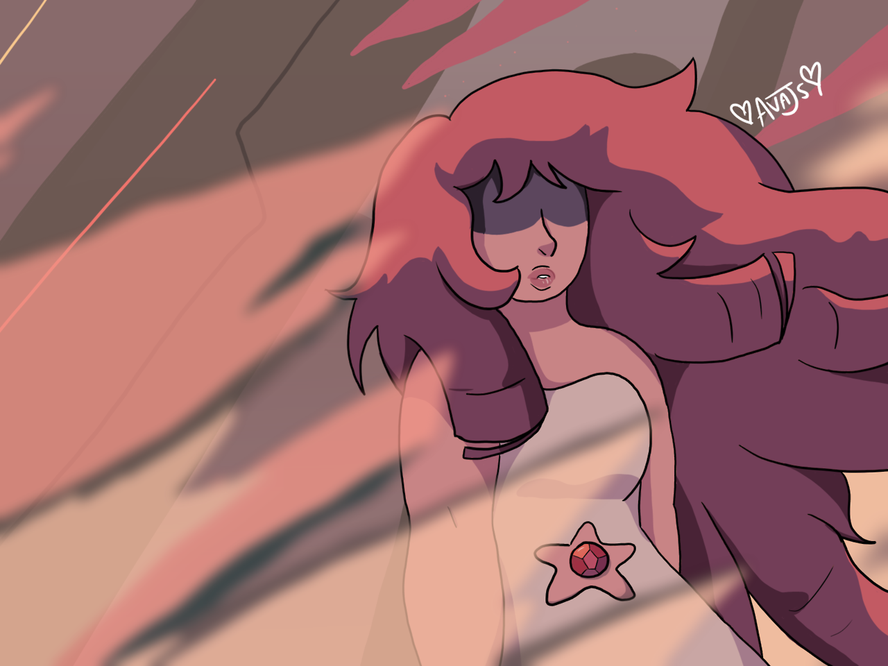 Mother  ~  Rose Quartz is such a complex character… and this episode was legit terrifying. It made me cry. Steven has developed so much since season 1…