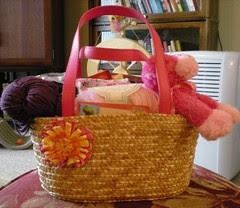 Pink Swap basket