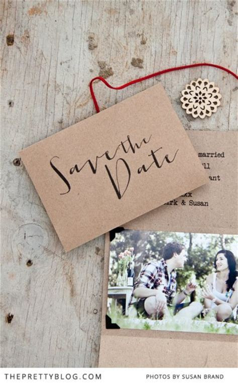 8 Inspiring Save the Date Cards ? DIY Weddings